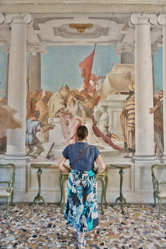 Iphigenia Sacrifice fresco