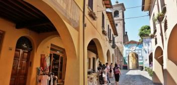 Dozza street art village near Bologna