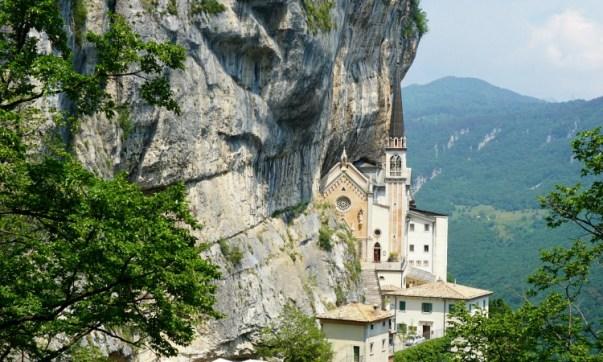 Madonna della Corona Sanctuary near Verona