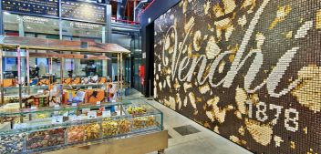 Venchi chocolate tour at FICO Eataly World