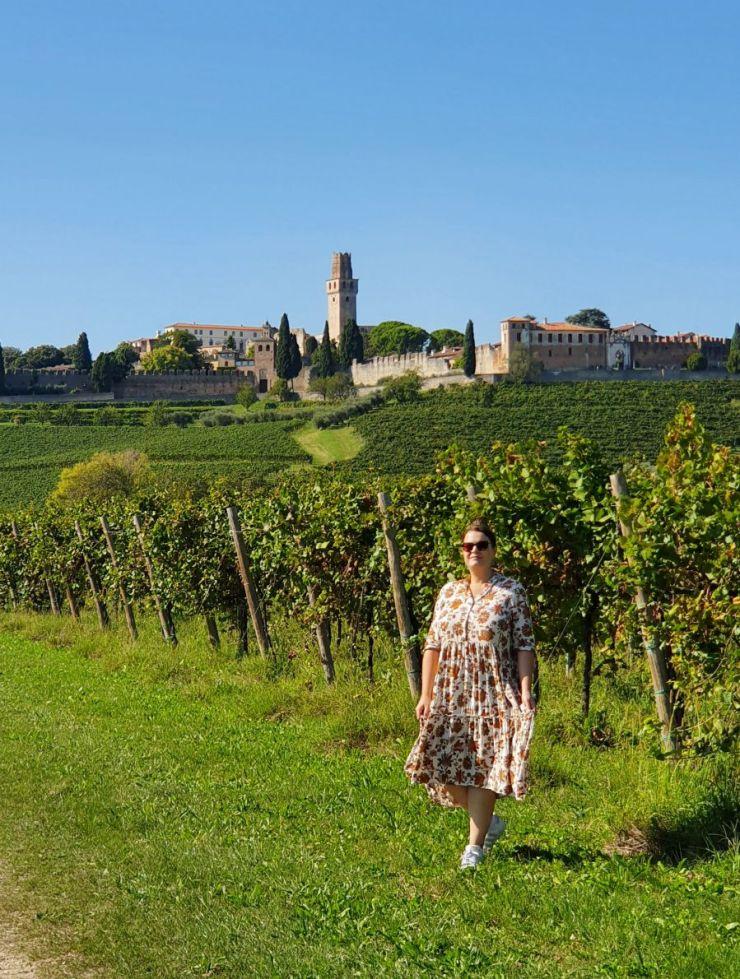 San Salvatore Castle Susegana, Prosecco road itinerary