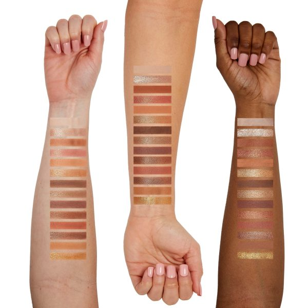 Ambiance Shadow Palette Arm Swatches