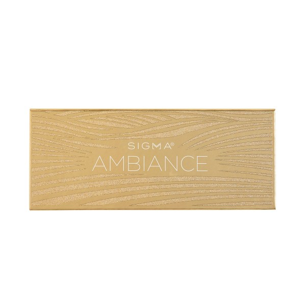 Ambiance Eyeshadow Palette Front by Sigma