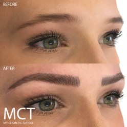Eyebrow Feathering 3D Tattoo