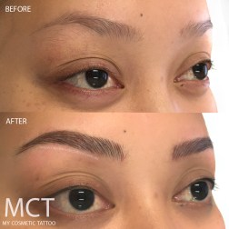Before & After 3D Brow Feathering