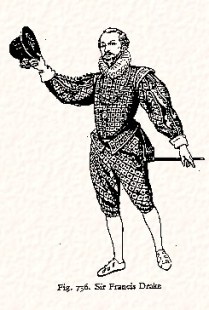 Francis Drake in Venetians, ca 1580s