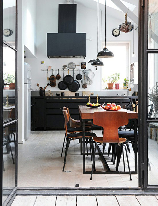 Industrial chic in the kitchen | My Cosy Retreat