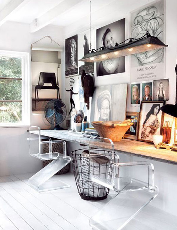 Inspiring Scandinavian style home offices | My Cosy Retreat