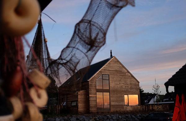 A romantic boat house on Rügen Island, Germany | My Cosy Retreat