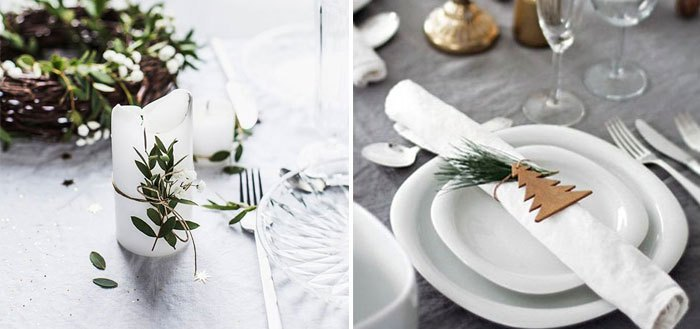 12 nature-inspired Christmas table settings | My Cosy Retreat