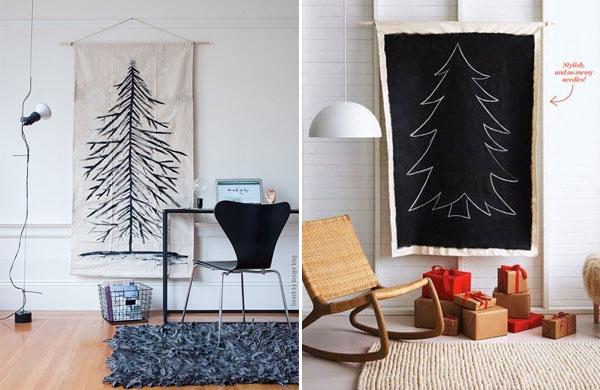 15 amazing alternative DIY Christmas trees | My Cosy Retreat