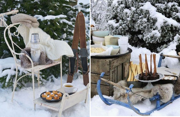 Let's have a snow picnic! | My Cosy Retreat