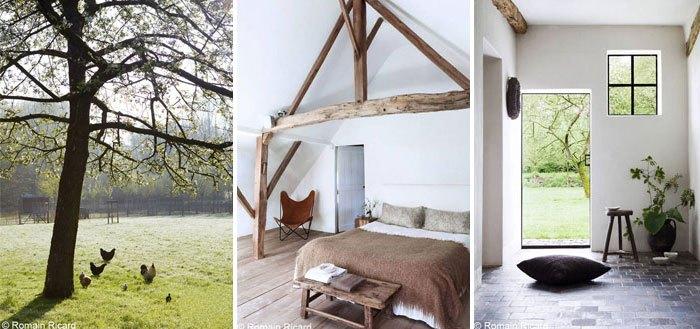 Moka & Vanille - a restored brick farmhouse in Belgium   My Cosy Retreat