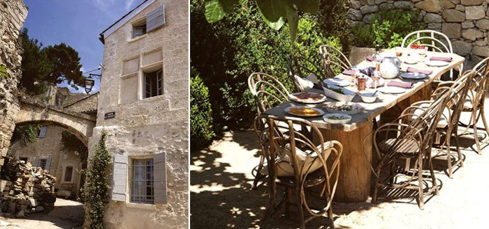 A family restored stone house with a lovely garden in Provence | My Cosy Retreat