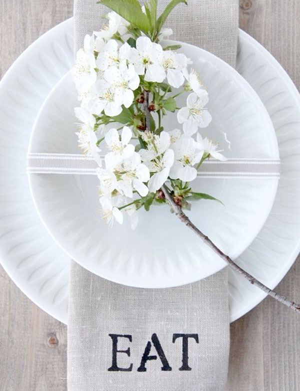 7 gorgeous spring table settings | My Cosy Retreat