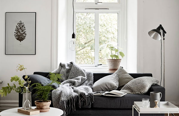 Adorable one room Swedish apartment | My Cosy Retreat