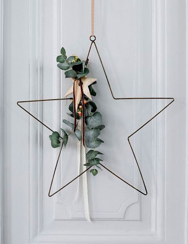 10 inspiring DIY natural Christmas wreaths | My Cosy Retreat