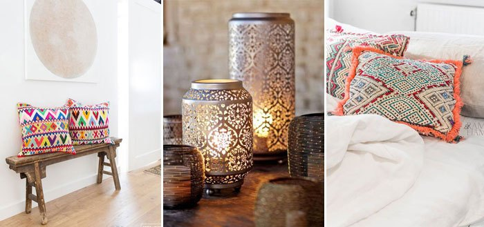 Today it's rainy and gloomy here, so let's brighten up the weekend with this lovely ethnic chic inspirations.