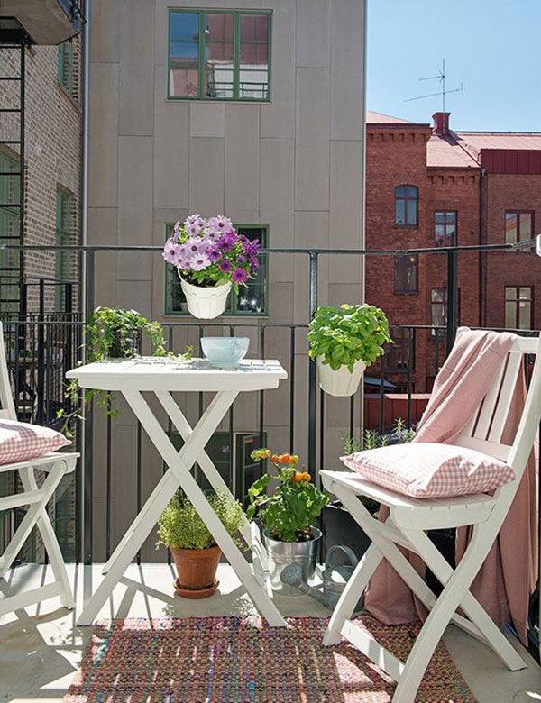 10 Gorgeously Beautiful Small Balcony Designs | My Cosy Retreat ... Part 96