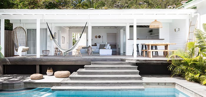 A tropical beach retreat in St. Barts | My Cosy Retreat