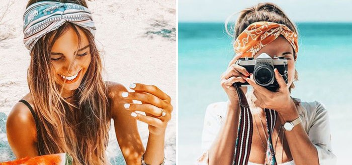 How to wear a headband, headscarf and turban this summer   My Cosy Retreat