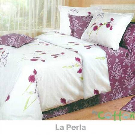 Постельное белье COTTON DREAMS (Коттон Дримс) Премиата (Premiata) - La Perla