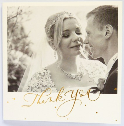papier - thank you card