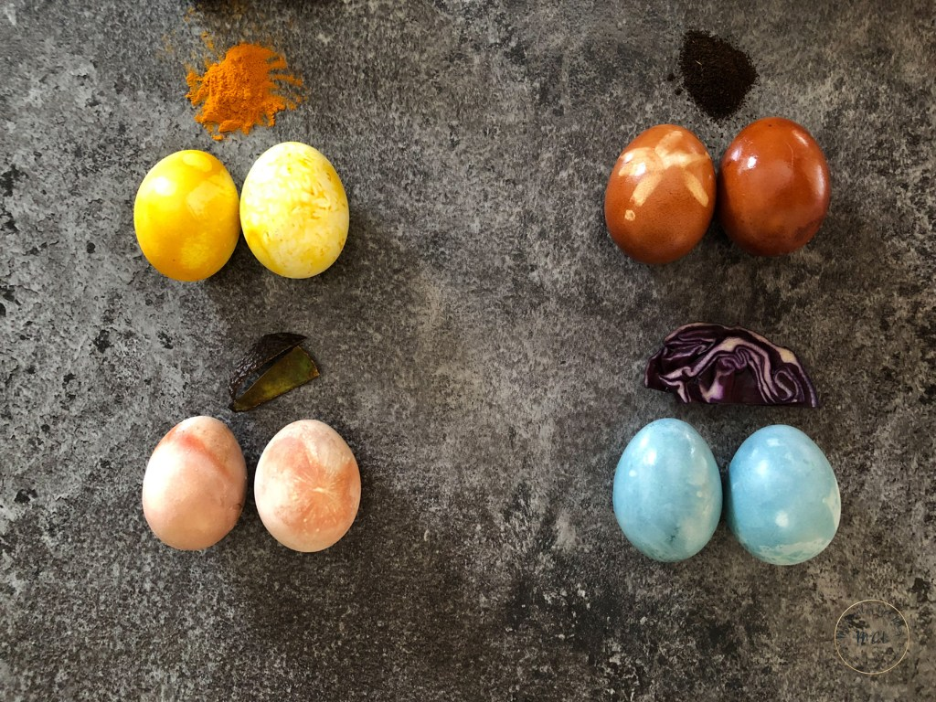 how to dye eggs - my country life