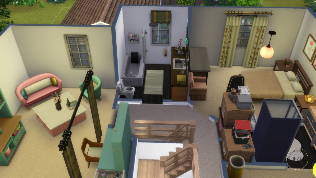 sims 4 house ideas - my country life 12