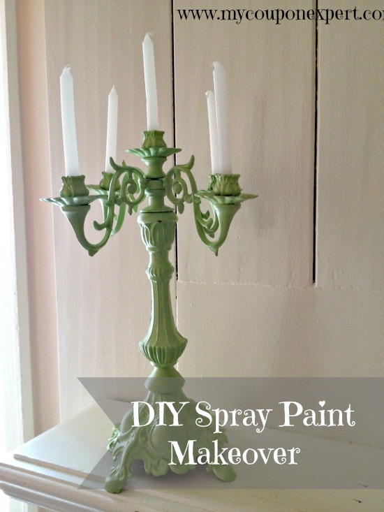 Trash to treasure spray paint makeover for Spray paint makeovers