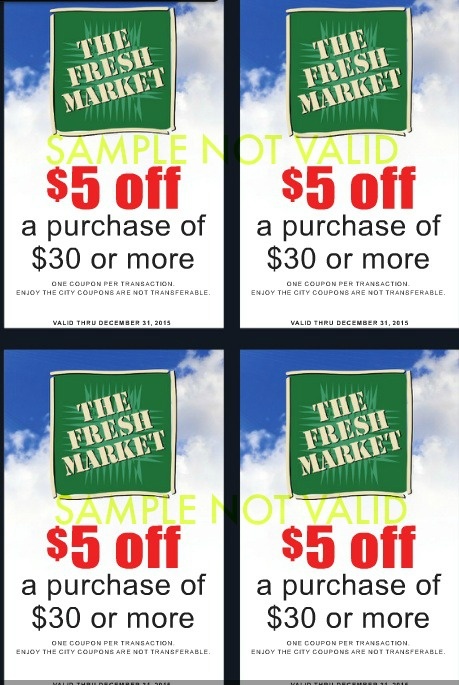 Market coupons