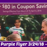 Publix Purple Advantage Flyer March 24th – April 6th!