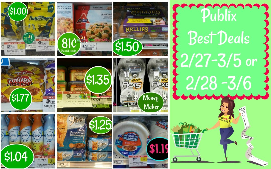 Publix Best Deals 2/27-3/5 or 2/28 -3/6