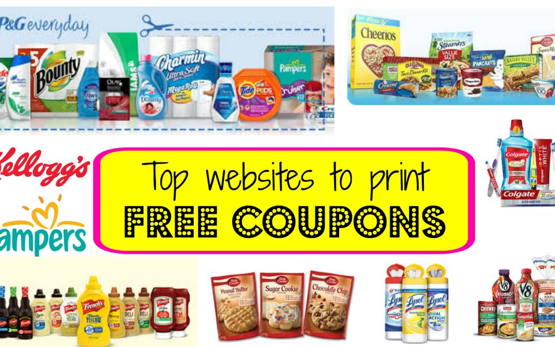 Top Trusted Sites to Print FREE coupons!