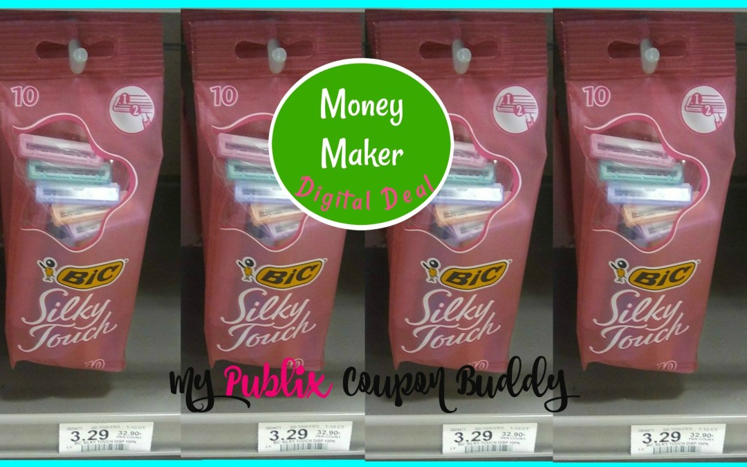New Digital Coupon ~ Money Maker on Bic Razors at Publix