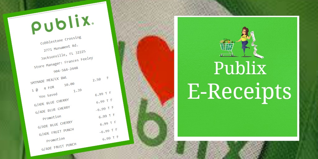 Publix E-Receipts