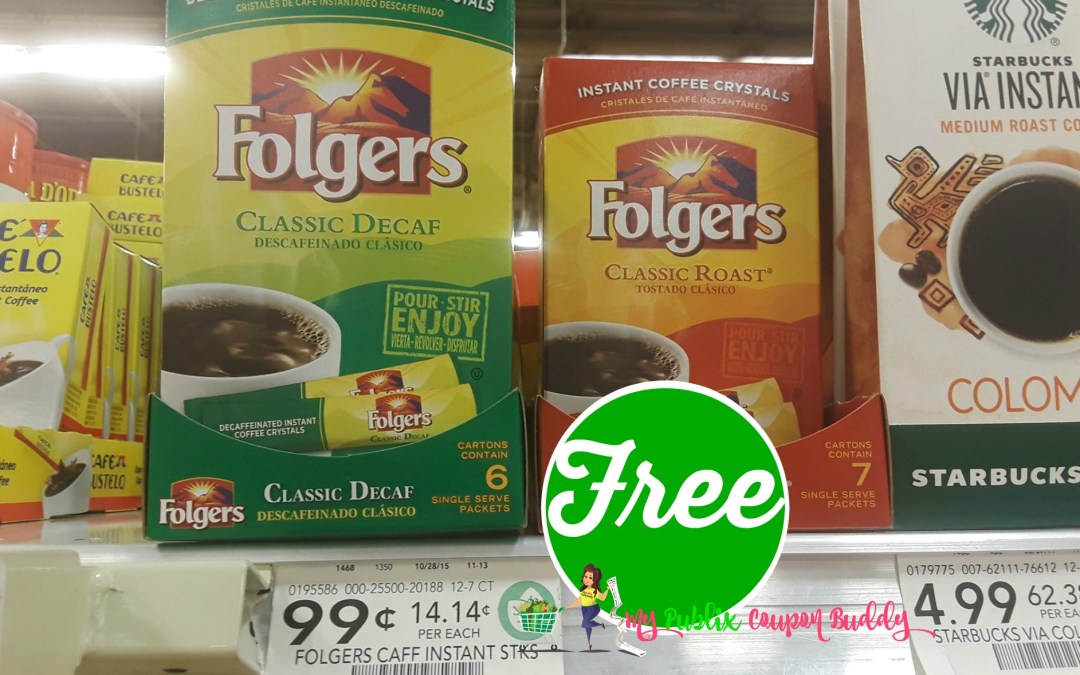 FREE Folgers Coffee at Publix