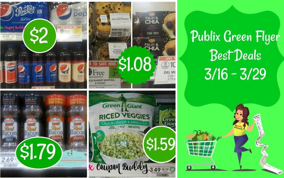 Publix Green Flyer Best Deals 3/16 – 3/29