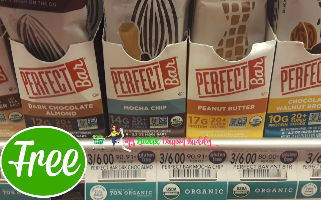 Perfect Bar FREE at Publix w/Ibotta Rebate!