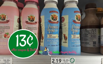 Promised Land French Vanilla Milk 13¢ at Publix