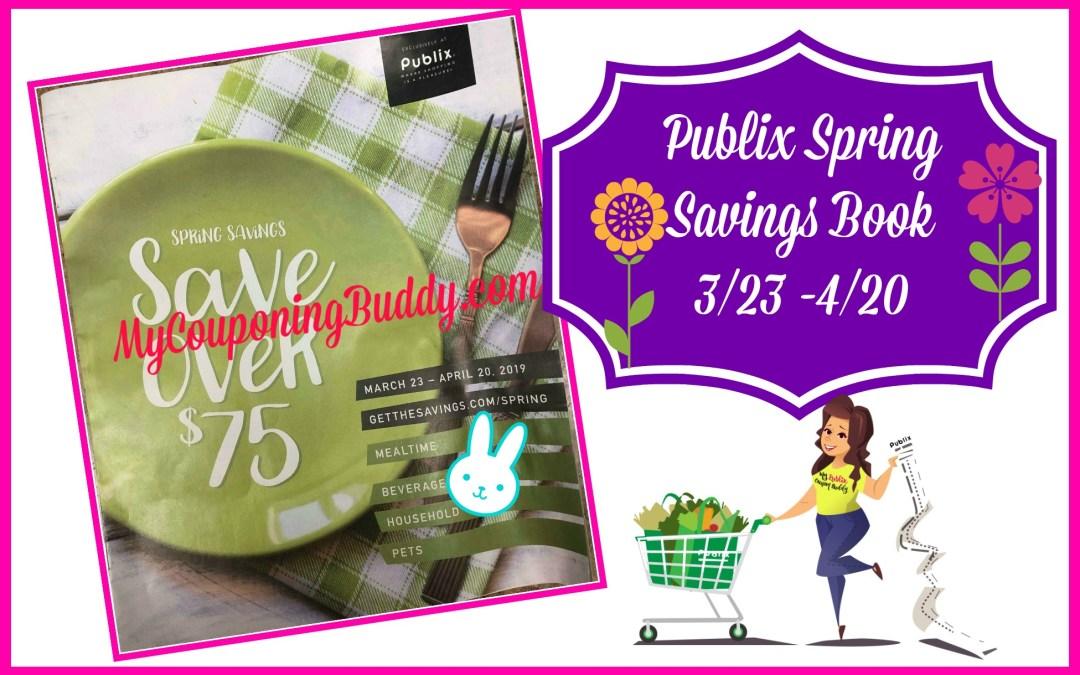 Spring Savings Publix Coupon Book 3/23-4/20