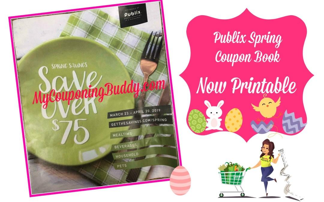 Publix Spring Savings Coupon Book Now Printable