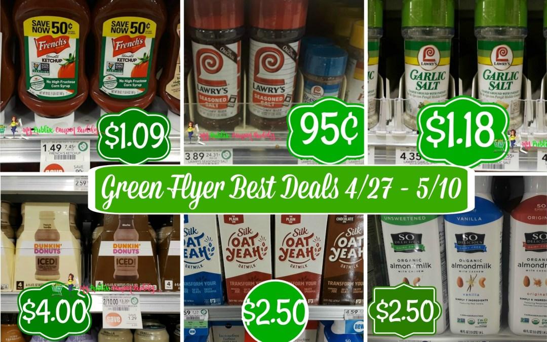 Publix Green Flyer Best Deals 4/27 – 5/10