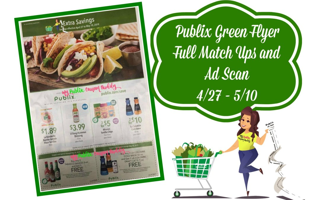 Publix Green Flyer Full Match Ups and Ad Scan 4/27 – 5/10
