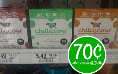 Chilly Cow Ice Cream 70¢ after coupons and Ibotta