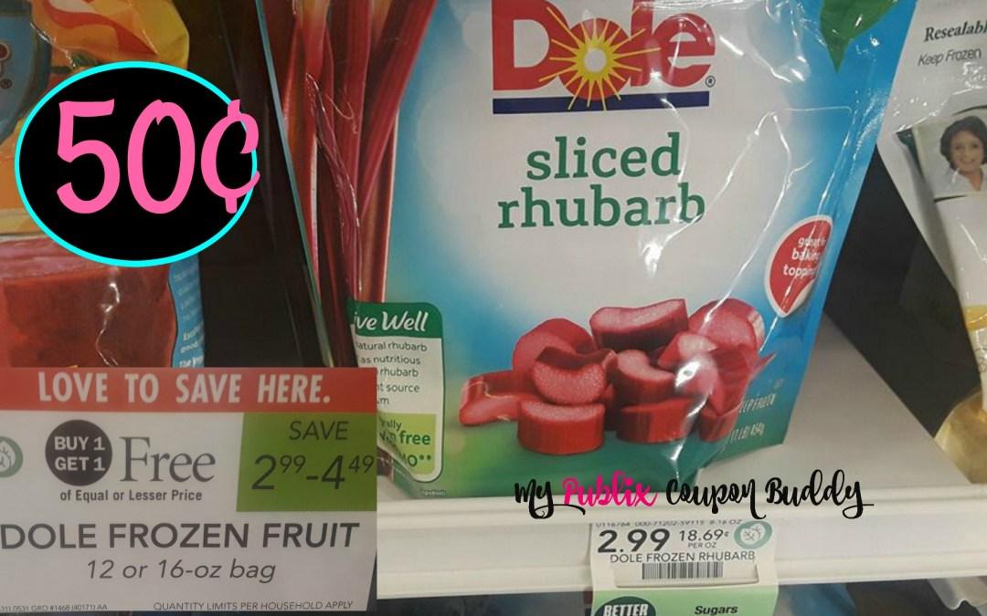 Dole Frozen Fruit as low as 50¢ at Publix