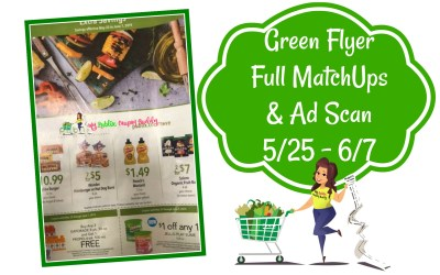 Green Flyer Full MatchUps and Ad Scan5/25 – 6/7
