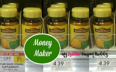 Money Maker on Nature Made Vitamins at Publix