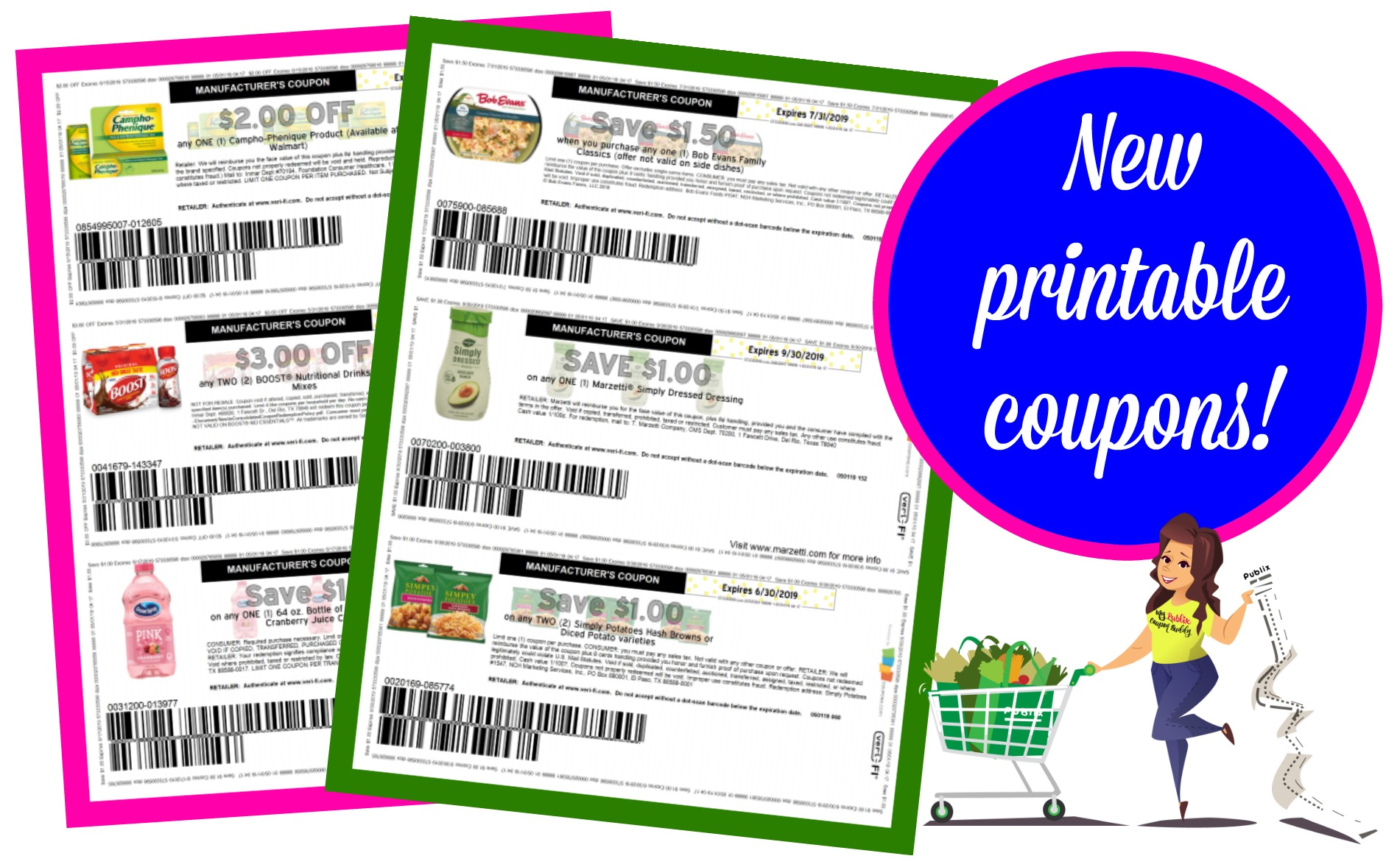 image about Boost Printable Coupons identified as Fresh new printable coupon codes! My Publix Coupon Close friend