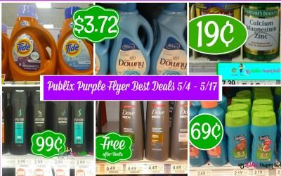 Publix Purple Flyer Best Deals 5/4 – 5/17
